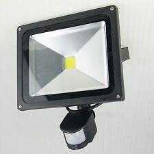 30W LED Luz De Inundación 30 Vatios Frío Luz del día Blanco Con PIR