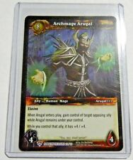 World of Warcraft Tcg: Dungeon Deck Treasure Card: Archmage Arugal Foil