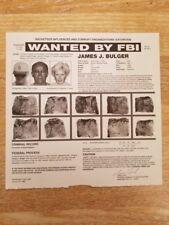 Wanted Poster Whitey Bulger 1999