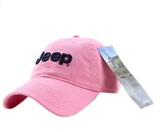 Pink Jeep Embroidered Logo Solid Color Adjustable Hat Cap New Free Shipping USA