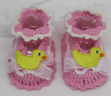 Unbranded Knitted/Crocheted Baby Booties
