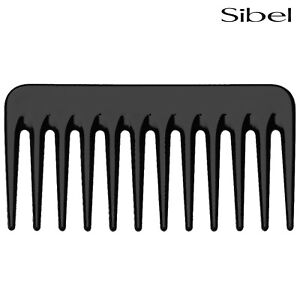 Sibel Small Black Afro Comb For Detangling Wild Untameable Thick Hair & Beards