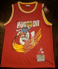 Travis Scott Houston Rockets RED B/R Jack Jersey Men's Medium!!