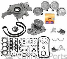 01-05 Honda Civic 1.7L D17A1 Non-VTec SOHC MASTER ENGINE REBUILD KIT (GRAPHITE)