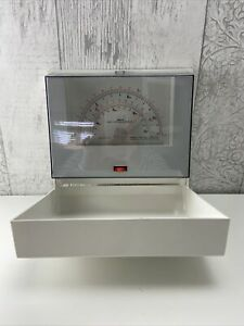 KRUPS Record Plus Vintage 1970's Wall Mounted Scales Imperial & Metric White.