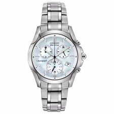 Citizen Eco-Drive Women's FB1158-55D Refurbished Chronograph 35mm Watch