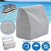 Pontoon Lounge Seat Chair Cover Waterproof Anti-UV Elastic Rope 84x56x83cm - -)