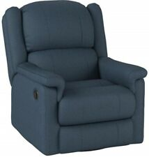 Incredible Blue Leather Recliner Chairs For Sale Ebay Gmtry Best Dining Table And Chair Ideas Images Gmtryco