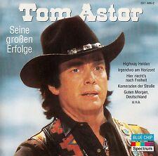 TOM ASTOR : DIE GRÖSSTEN ERFOLGE / CD - NEU