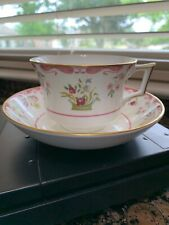 Wedgwood Bianca Williamsburg Footed Tea Cup & Saucer R4499 Bone China