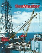 Equipment Brochure - Link-Belt Speeder - Sea Master Cranes - c1971 (E4585)