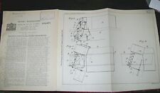 ROAD SWEEPER & REFUSE COLLECTOR MACHINE PATENT. KARRIER MOTORS. 1924