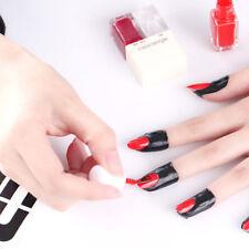 10Pcs Nail Manicure Sticker Tips Varnish Cover UV Gel Apply Polish Protector Set