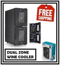 Tristar WR7512 Dual Wine Cooler (12 Bottles)