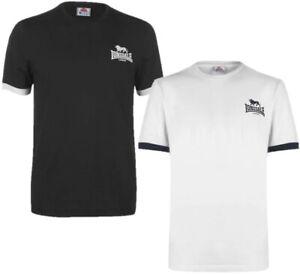 ✅ LONSDALE LOGO Herren T-Shirt Gr.S-4XL Freizeit Sommer Fitness Hemd Rundhals