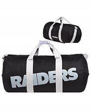 Oakland Raiders NFL Vessel Barrel Duffle Gym Bag