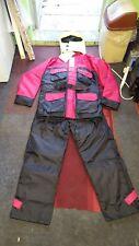 mullion floatation suit 2 pce fishing suit   used once size m