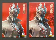 PANINI FORTNITE SERIES 1 HOLOFOIL & CRYSTAL SHARD CARD #290 SPIDER KNIGHT