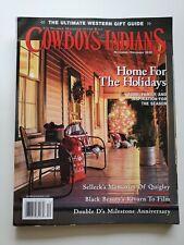 Cowboys & Indians Magazine Longmire Paul Michael October 2017