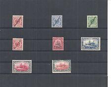 Marshall-Inseln, Dt. Kolonien 1899, Einzelmarken aus MiNrn: 1 - 27 *,ungebraucht