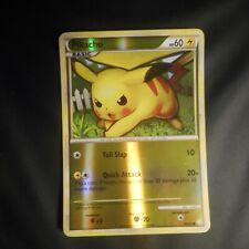 Pokemon 2010  ** PIKACHU **  HOLOFOIL HEARTGOLD SOULSILVER 78/123! NM