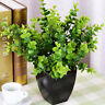 1 Bouquet Green Artificial Small Leaves Plant Eucalyptus Grass Home Decor Flower