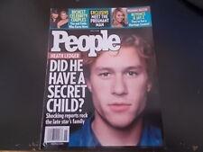 Heath Ledger, New Kids on the Block - People Magazine 2008