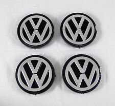 4Pcs Set VW Alloy Wheel Center Hub Caps 56/52 mm. ABS + Aluminum New 6NO6017012