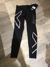 2XU Men's  HYOPTIK Compression 3/4  Tights, Pants, Underwear, Ski, Running S