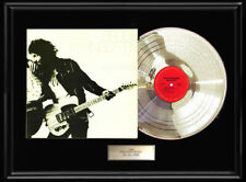 Bruce Springsteen Born to Run Limited Edition CD Platinum LP Disc