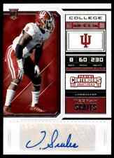 2018 PANINI CONTENDERS STEELERS TEGRAY SCALES RC AUTO INDIANA HOOSIERS #278