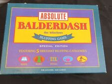 Absolute Balderdash Special Edition Board Game DRUMOND PARK 1999. Bluffing game