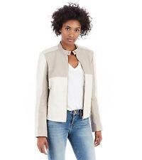True Religion Brand Jeans Tonal Biker Women's Leather Jacket - NWT