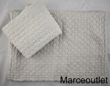 Hotel Collection Speckle King Quilted Pillowshams Light Gray