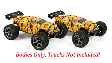2pk Combo Custom Bodies for Traxxas eRevo Car Truck 1/10 5611X Tiger x 2