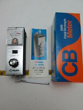 Vintage Mura SWR Field Strength Meter CBM-10 CB Test Equipment NOS T