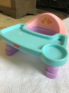 Fisher Price Servin Surprises High chair pretend play doll l included