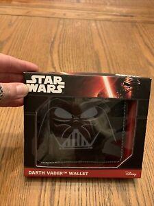 Star Wars Grey & Black Darth Vader Wallet ** Brand New **
