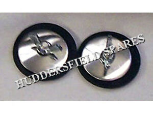 Stainless steel wiper grommets/bungs for classic mini, Pair of NEW