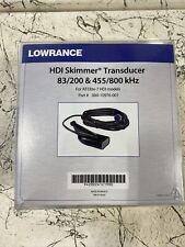 Lowrance Hdi Skimmer 83/200 455/800 T/M Transducer 000-10976-001
