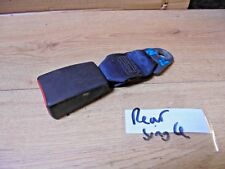 PEUGEOT PARTNER CITROEN BERLINGO 2005 MPV REAR SEAT BELT CLASP DARK BLUE