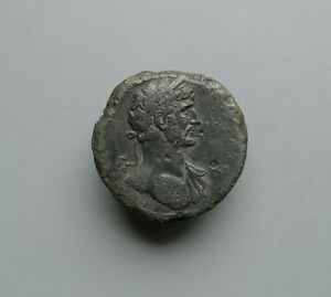 Large Hadrian Sestertius AD 117. Low start and no reserve.