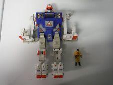 Vintage GoBot Courageous Guardian Armored Robot Power Warrior w/ figure Tonka