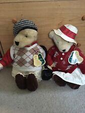 NWT North American Bear Cornelius & Alice VanderBear Puttering Around # LTD EDT