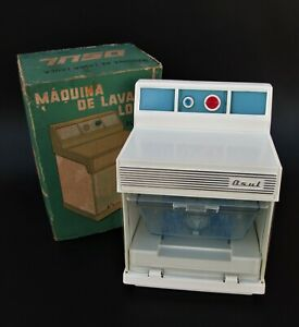 Dishwasher OSUL , Vintage Portuguese Battery Operated Toy from the 60's