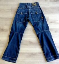 G STAR RAW JEANS SIZE 26 X 29 CINCH BACK ELWOOD HERITAGE VGC SEE DESCRIPTION