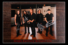 Gfa Heavy Metal Rock Band * Queensryche * Signed 11x14 Photo Q4 Coa