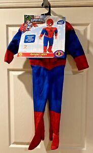 Marvel Spiderman Costume Superhero Adventures  My 1st Marvels Costume Size 3T-4T