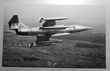 Canada Armed Forces Super Starfighter Postcard