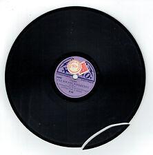 78T 20 cm DELAQUERRIERE -UNE POUPEE PARISIENNE Chanté Edison Bell RADIO 148 RARE